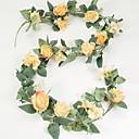 ieftine Flor Artificiales-Flori artificiale 1 ramură Clasic Rustic Trandafiri Flori Perete