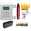 billige Strømforsyning til tatoveringsmaskiner-Aluminiumslegering Høyhastighet / Spenning Justerbar / Justerbare Dynamiske 0 Anbefales for Øyenbryn / Lepper / Eyeliners