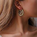 ieftine Seturi de bijuterii-Pentru femei Stil Vintage Cercei Stud Cercei Rotunzi - Cutie de viteză Simplu, Boem, Modă Auriu / Argintiu Pentru Petrecere Zilnic Stradă / Steampunk