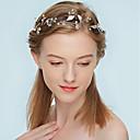 abordables Joyería para el Cabello-Mujer Cruzado Cadena para el Pelo - Simple / Elegante Floral