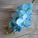 זול פרח מלאכותי-פרחים מלאכותיים 1 ענף קלאסי כפרי סחלבים פרחים לרצפה