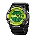 رخيصةأون فيدجيت سبنر-SANDA للرجال ساعة رياضية ساعة رقمية ياباني رقمي 30 m مقاوم للماء رزنامه بارد وورد / العبارة سيليكون فرقة رقمي ترف موضة أسود - أحمر أخضر أزرق / ساعة التوقف / قضية