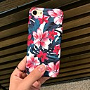 cheap Cell Phone Cases & Screen Protectors-Case For Apple iPhone X / iPhone 8 Frosted / Pattern Back Cover Flower Hard PC for iPhone X / iPhone 8 Plus / iPhone 8