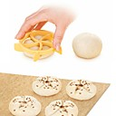 cheap Bakeware-Homemade Bread Rolls Mold Bread Kaiser Line Mould Kitchen Pastry Baking Tools