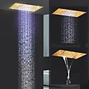 Χαμηλού Κόστους Βρύσες Κουζίνας-Σύγχρονο Ντουζιέρα Βροχή Ti-PVD Χαρακτηριστικό - Βροχή / Νεό Σχέδιο, Κεφαλή ντους