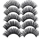 cheap Eyelashes-lash False Eyelashes Professional / Best Quality Makeup 10 pcs Eye Trendy / Fashion Event / Party / Daily Wear Daily Makeup / Halloween Makeup / Party Makeup Natural Curly Multifunctional Cosmetic