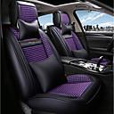 זול כיסויי למושבים לרכב-ODEER כיסויי למושבים לרכב כיסויים שחור / סגול טֶקסטִיל נפוץ for אוניברסלי כל השנים כל הדגמים