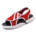 povoljno Ženske sandale-Žene Mrežica Ljeto Udobne cipele Sandale Ravna potpetica Okrugli Toe Obala / Crn / Crvena