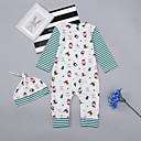 ieftine Set Îmbrăcăminte Bebeluși-Bebelus Fete Activ / De Bază Sport Imprimeu Manșon Lung Bumbac O - piesă / Copil