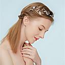 tanie Imprezowe nakrycia głowy-Stop Opaski na głowę z Kryształ górski / Sztuczna perła 1 szt. Ślub / Impreza / bal Winieta