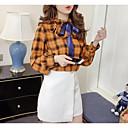 cheap Bracelets-Women's Cotton Blouse - Solid Colored / Striped