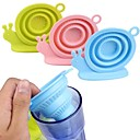 cheap Bakeware-Foldable Snail Tea Infuser Silicone Loose Tea Leaf Strainer Filter Herbal
