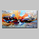 cheap Prints-Oil Painting Hand Painted - People / Religious Modern Canvas