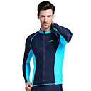 cheap Wetsuits, Diving Suits & Rash Guard Shirts-SBART Men's Diving Rash Guard SPF50, UV Sun Protection, Quick Dry Chinlon / Elastane Long Sleeve Swimwear Beach Wear Sun Shirt / Top Swimming / Diving / Surfing