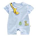 ieftine Set Îmbrăcăminte Băieți Bebeluși-Bebelus Băieți Mată Mânecă scurtă O - piesă