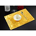 זול משטחי שולחן-קלסי PVC ריבוע משטחי שולחן מדפיס לוח קישוטים 1 pcs