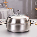 halpa Ruoanlaittotarpeet-Ruoanlaittovälineet Ruostumaton teräs Pyöreä Cookware 1 pcs