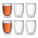 זול ספלים וכוסות-drinkware זכוכית בורון גבוהה ספל בידוד 1 pcs