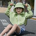 preiswerte Softshell, Fleece & Wanderjacken-Mädchen Regenmantel für Wanderer Außen Atmungsaktivität, UV-beständig Jacke SBS Reißverschlüsse Wandern / Camping / Reise