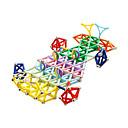 זול בלוקים מגנטיים-מקלות מגנטיים 560 pcs יצירתי טרנספורמבל / אינטראקציה בין הורים לילד כל מתנות