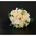 cheap Wedding Flowers-Wedding Flowers Bouquets / Decorations Wedding / Wedding Party Dried Flower / Lace / Flower & Bud 11-20 cm