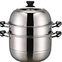ieftine Articole de Bucătărie-vase Oțel Inoxidabil Rotund Vase 1 pcs