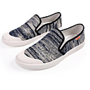 ieftine Pantofi Sport de Bărbați-Bărbați Mocasini Pânză Primăvară Mocasini & Balerini Negru / Albastru
