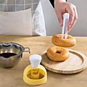 tanie Akcesoria do pieczenia-Narzędzia do pieczenia Plastik Wielofunkcyjne / Kreatywny gadżet kuchenny Akcesoria kuchenne Zaokrąglony Przybory do ciast / Foremki do ciastek / Narzędzia makaronowe 1 szt.