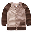 povoljno Džemperi i kardigani za dječake-Djeca Dječaci Color block Dugih rukava Džemper i kardigan