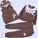 ieftine Seturi Îmbrăcăminte Fete-Copil Fete Mată Manșon Lung Set Îmbrăcăminte