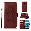 זול מגנים לטלפון & מגני מסך-מגן עבור LG LG Q7 ארנק / מחזיק כרטיסים / עם מעמד כיסוי מלא ינשוף קשיח עור PU ל LG Q7