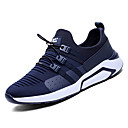 זול נעלי ספורט לגברים-בגדי ריקוד גברים PU קיץ נוחות נעלי אתלטיקה הליכה שחור / כחול