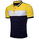povoljno Muške duge i kratke hlače-Polo Muškarci - Osnovni Dnevno Color block Kolaž