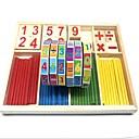 baratos Brinquedos Ábaco-Teste padrão geométrico Número Composto Madeira-Plástico / Madeira / Bambu Peças Crianças / Elementar Dom