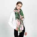 ieftine Cercei la Modă-Pentru femei Imprimeu Tropical Leaf Franjuri Petrecere / Nuntă Dreptunghi