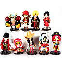 cheap Anime Action Figures-Anime Action Figures Inspired by One Piece Monkey D. Luffy PVC(PolyVinyl Chloride) 7 cm CM Model Toys Doll Toy