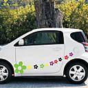 tanie Automotive Body Decoration and Protection-1# Naklejki samochodowe Kreskówka Naklejki na drzwi Rośliny Naklejki
