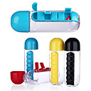 ieftine Pahare Novelty-Drinkware Sticle de Apă / Călătorie Organizator / Rotativă Plastice Portabil / Mini / cadou iubit Antrenament / Sporturi & Exterior
