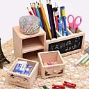 זול ארגון השולחן-עץ מלבן עיצוב חדש בית אִרגוּן, 1pc מגירות / סלי אחסון