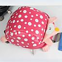 tanie Preschool Backpacks-Unisex Torby PU Tornister Zamek Czarny / Rumiany róż