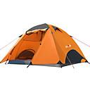 رخيصةأون مفارش و خيم و كانوبي-BSwolf 2 الأشخاص خيم حقيبة الظهر في الهواء الطلق مكتشف الأمطار التنفس إمكانية طبقات مزدوجة قطب الماسورة خيمة التخييم >3000 mm إلى صيد السمك شاطئ Camping / Hiking / Caving