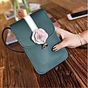 preiswerte Magnetische Bauklötze-Damen Taschen PU Handy-Beutel Reißverschluss Schwarz / Rosa / Hellgrau