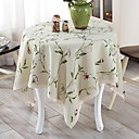 cheap Table Cloths-Contemporary Nonwoven Round Table Cloth Geometric Table Decorations 1 pcs