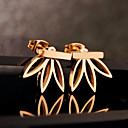preiswerte Modische Ohrringe-Damen Ohrstecker Gestlyte Ohrringe Vorne Hinten - Blume Grundlegend, Europäisch Silber / Golden Für Party Geburtstag Alltag