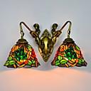 tanie Peruki z włosów ludzkich-Vintage Lampy ścienne Salon Metal Światło ścienne 220-240V / E26 / E27