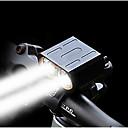 baratos Luzes de Bicicleta & Refletores-Luz Frontal para Bicicleta / Farol para Bicicleta LED duplo Luzes de Bicicleta LED Ciclismo Portátil, Libertação Rápida, Múltiplos Modos Bateria Li-on Recarregável 1600 lm Baterias Recarregáveis