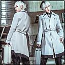 baratos Acessórios Cosplay Anime-Inspirado por Tokyo Ghoul Ken Kaneki Anime Fantasias de Cosplay Ternos de Cosplay Riscas / Anime Casaco / Camisa / Calças Para Homens