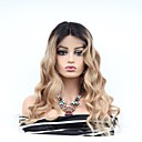cheap Pendant Lights-Remy Human Hair Full Lace / Lace Front Wig Brazilian Hair Wavy Wig Asymmetrical Haircut 130% Women / Easy dressing / Sexy Lady Women's Very Long Human Hair Lace Wig