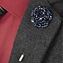preiswerte Anstecker und Broschen-Damen Tansanit Perlenbesetzt Broschen - Blume Einfach Brosche Schmuck Gold / Blau / Blau / Schwarz / Blau Für Hochzeit