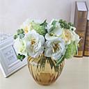 ieftine Flor Artificiales-Flori artificiale 8.0 ramură Clasic / Single Stilat / Pastoral Stil Trandafiri / Hydrangeas Față de masă flori